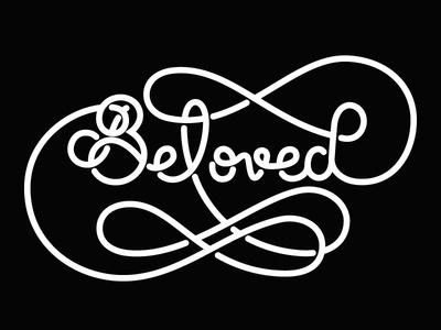Beloved #flourish #lettering #script #custom #type #typography