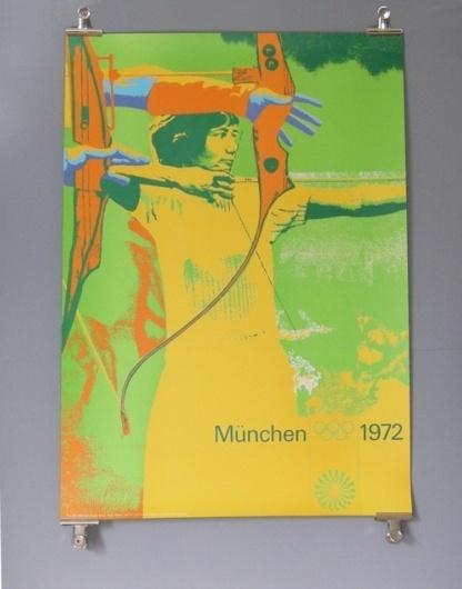 Otl Aicher 1972 Munich Olympics - Posters - Sports Series #otl #1972 #aicher #olympics #munich