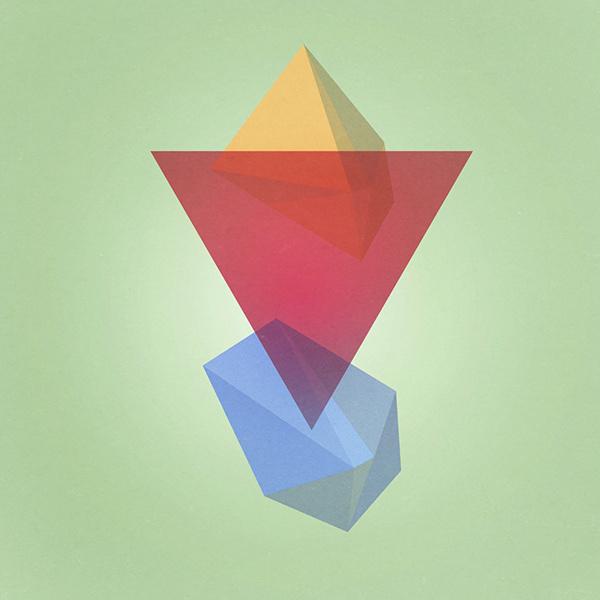 Geometric Design jacquelombardo.com #design #graphic #geometric #texture #digital #minimal #art #cosmic
