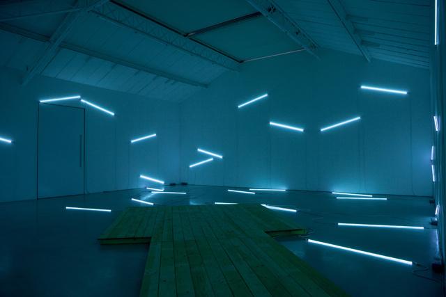 «Pier and Ocean», 2014, Francois Morellet, Kemal Mennour Gallery #sdsdsd