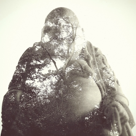 All sizes | Double exposure // Buddha Ornament // Woodland | Flickr - Photo Sharing! #woodland #mountford #dan #exposure #buddha #ornament #double #trees