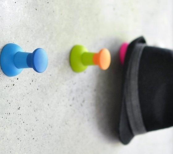 Push Pin Wall Hook #gadgets