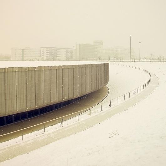 Winter Berlin on the Behance Network #architecture #berlin #facades