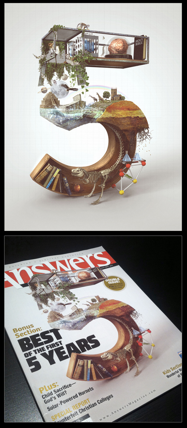 Already Been Chewed #illustration #magazine