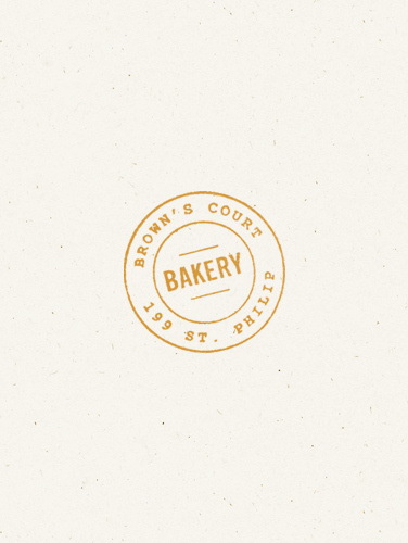 Brown's Court Bakery Logo | Nudge