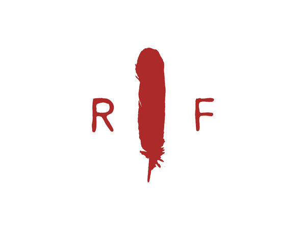 Red Feather logo #logo #red #feather