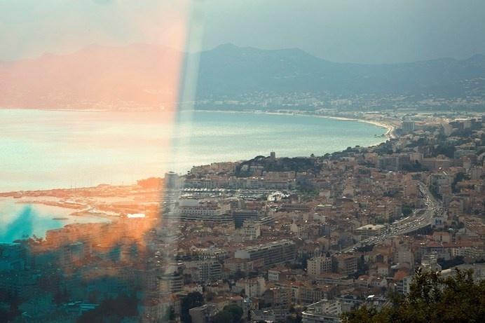 Cannes Photography by Clement Jolin, from the book Portrait de Villes
