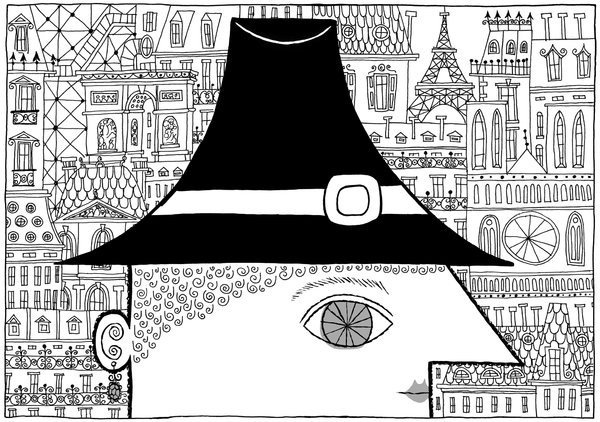 An American Neurotic in Paris - NYTimes.com #illustration #nytimes