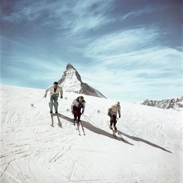capa in color 2 #switzerland #photography #vintage #film #matterhorn