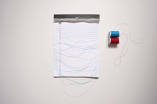 Make Something Cool Every Day 2009 on the Behance Network #davis #string #msced #notepad #brock