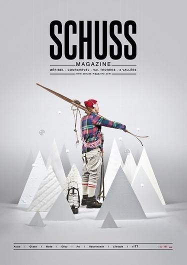 Schuss n°77 // Magazine on the Behance Network #handmade