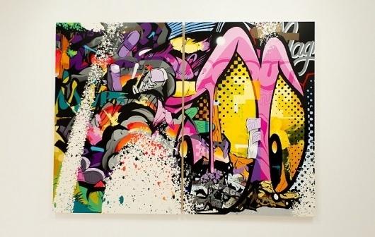 Pose - F C H i C H K 'L #pose #graffiti #illustration #art #typography