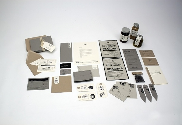 Graphic-ExchanGE - a selection of graphic projects - Page2RSS #brand #restaurant