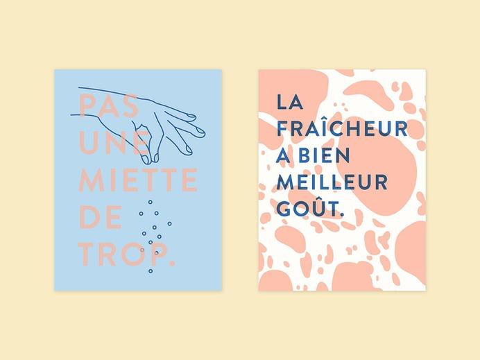 La Fille du Boulanger - Mindsparkle Mag Beautiful rebrand for La Fille du Boulanger, a gourmet bakery, created by Simon Laliberté in Montréal. #branding #corporate #design #identity #color #photography #graphic #design #gallery #blog #project #mindsparkle #mag #beautiful #portfolio #designer