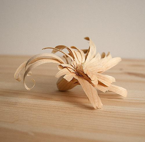 woodflower #flower #wood #carving
