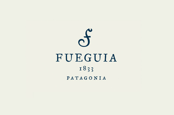 Fueguia 1833 Patagonia logo design by Ale Román #logo