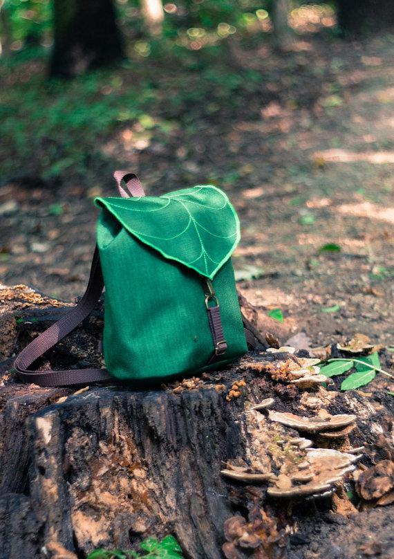 leaf, bag, backpack