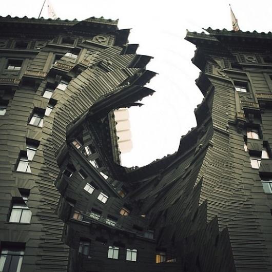 Twisting Architecture   Fubiz™