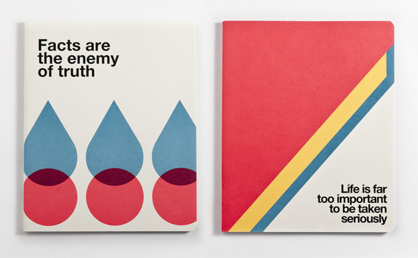Ogami Quotes | Gruppo Cartorama on Behance #helvetica #colors #geometric