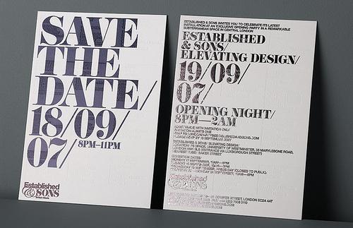 Invitation - Didoni #typface #invitation #didoni #type #typography