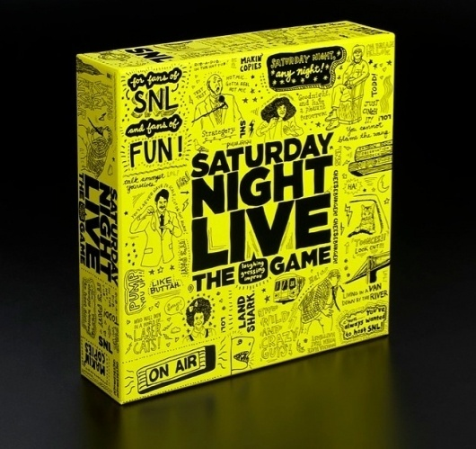 Saturday Night Live The Game #live #saturday #packaging #the #night #illustration #for #game