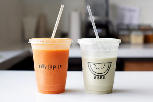 Tiny Empire #packaging #food #bar #juice #dring