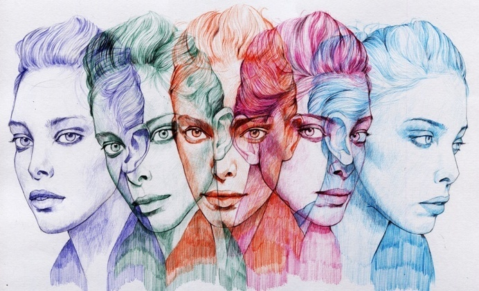 Experimental Ballpoint Pen Art by Ler Huang - JOQUZ #ballpoint #drawing #color