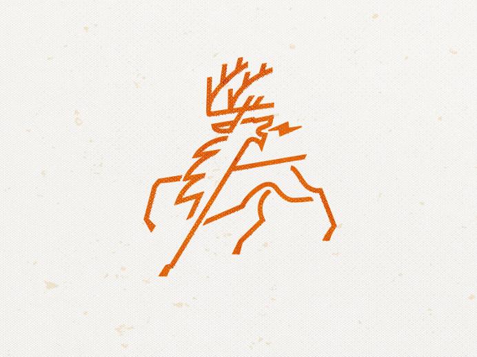 #logo #deer