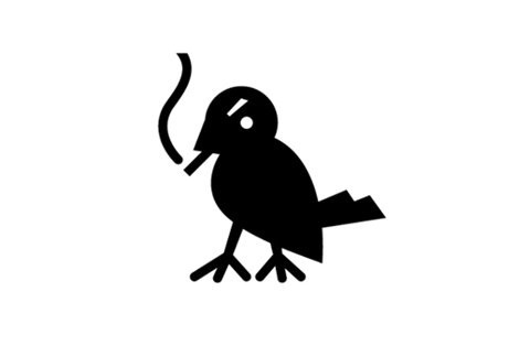 FFFFOUND! | Logos Only #smoking #bird