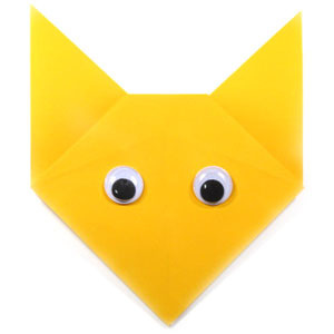 How to make an easy origami fox (http://www.origami-make.org/howto-origami-fox.php)