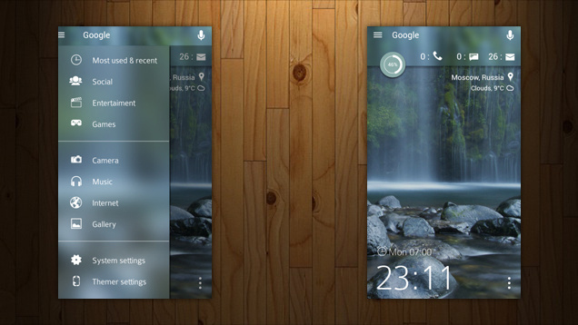 Best Android Blurred Home Screen Cool Images On Designspiration