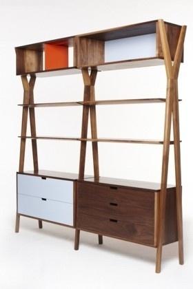 Dare Studio :: Dixon Modular Storage Unit #oak #wood #furniture #walnut
