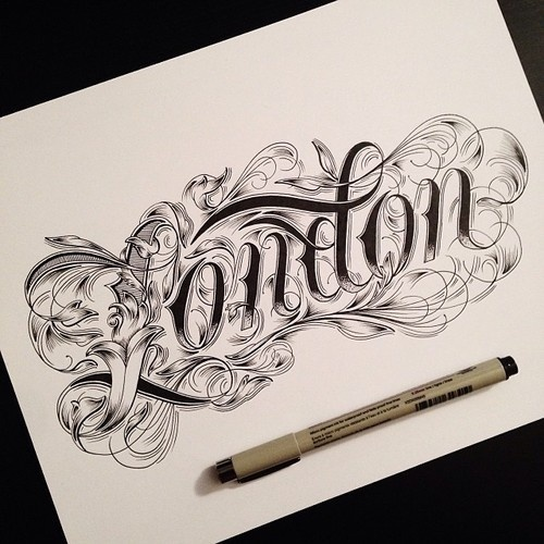 typeverything.com,by Raul Alejandro #type #lettering