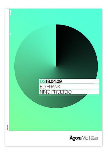 Poster on Behance #gradient
