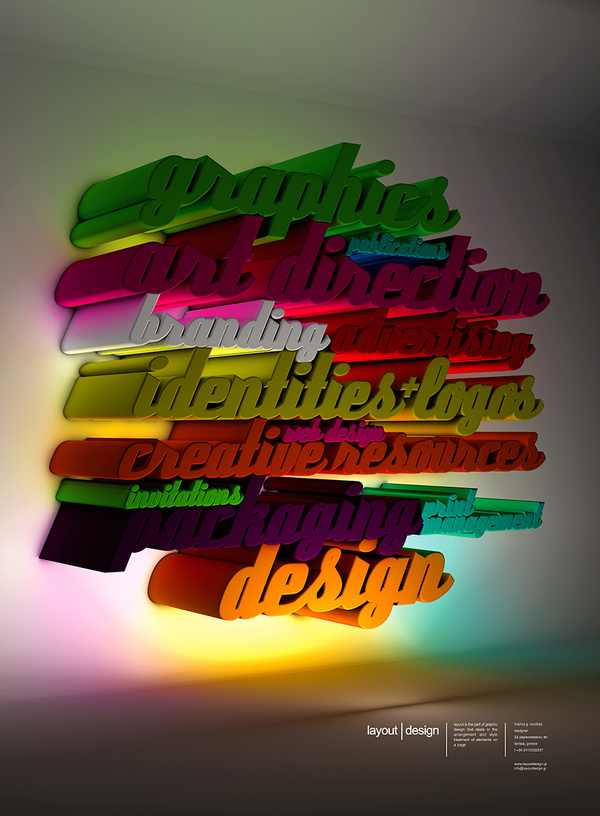 Layout Design #advertising