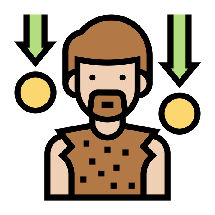 See more icon inspiration related to poor, pauper, indigent, charity, character, boy, avatar, man, person, people and social on Flaticon.