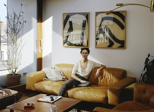 At Home with Anouck Lepère - NOWNESS #antwerp #apartment #lepre #anouck