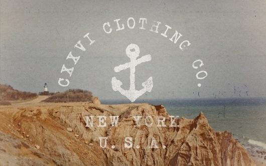 CXXVI Clothing Co. — Spring 2011 #clothing #landscape
