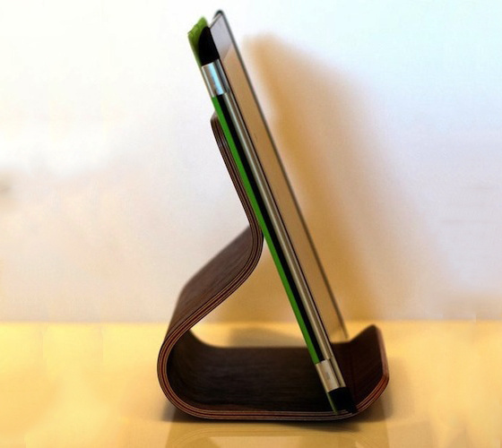 Plywood Tablet Stand #gadget #stand