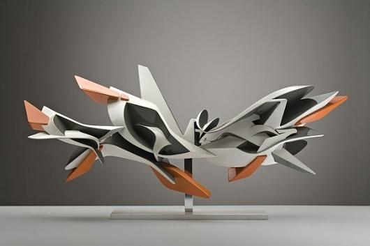 Glossy Sculptures on the Behance Network #graffiti #sculpture #pvc