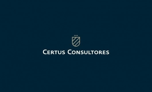 Anagrama | Certus Consulting #logo #shield #identity #typography