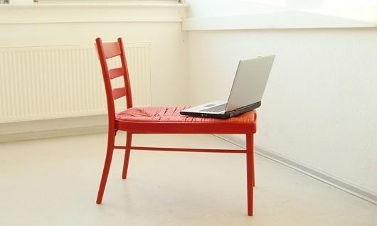 The chair on the rack : Jennifer Rieker #jennifer #furniture #design #rieker