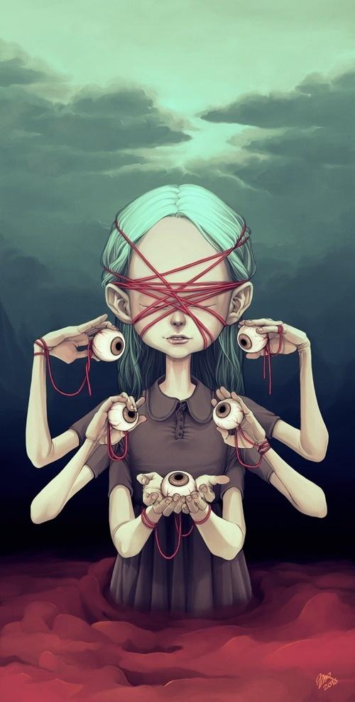 Eyes #girl #eyes #design #graphic #illustration