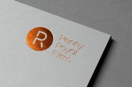 FormFiftyFive – Design inspiration from around the world » Blog Archive » Alphabetical: Penny Royal Films #design #graphic #branding