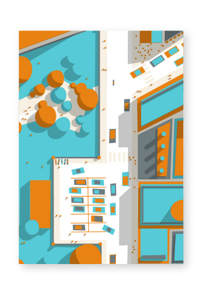 http://www.philippe nicolas.com/files/gimgs/36_ground sample 02 2 by philippe nicolas 01.jpg #vector #modern #design #map #landscape #illustration #architecture #street