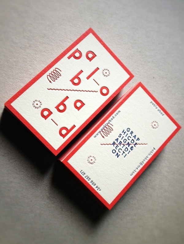 New Visual Identity_01 Business Cards on the Behance Network