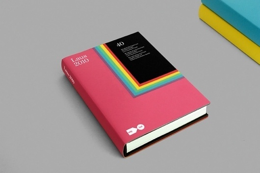 Libro Laus 2010 #print #book #colors #cover