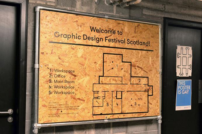 Graphic Design Festival Scotland by Warriors Studio #WarriorsStudio