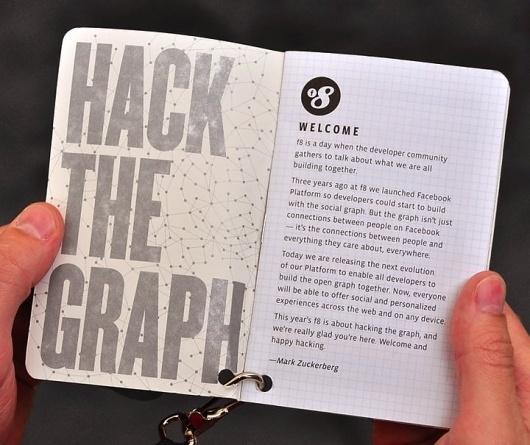 Designing f8 — Part 2 of 5 — Badges & Booklets #facebook #hack #graph #the