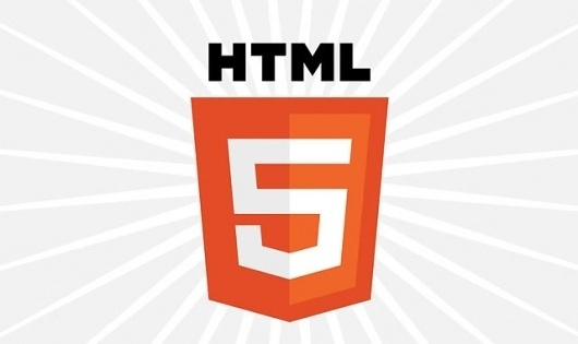 HTML5 Gets an Official Logo from W3C #shtml #logo #design